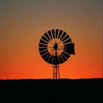 Sunset Outback Queensland