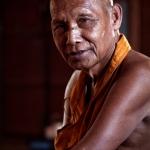 Buddhist monk, Tonle Sap Cambodia
