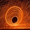 Brisbane @ Dusk Steel Wool Burning