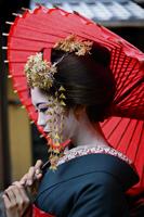 Kyoto with its beautiful Geisha