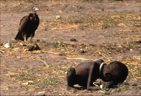 Kevin Carter's Pulitzer Prize-winning photograph