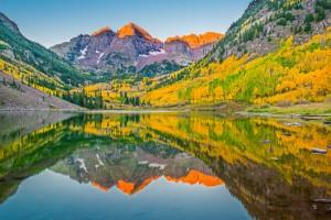 Maroon Bells. Aspen, Colorado.